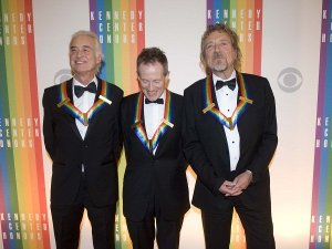 The Zep Boys in full regalia at the Kennedy Center, Dec. 2012.